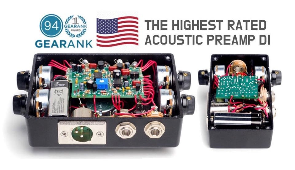 Red-Eye Preamp DI The Best Acoustic Preamp DI