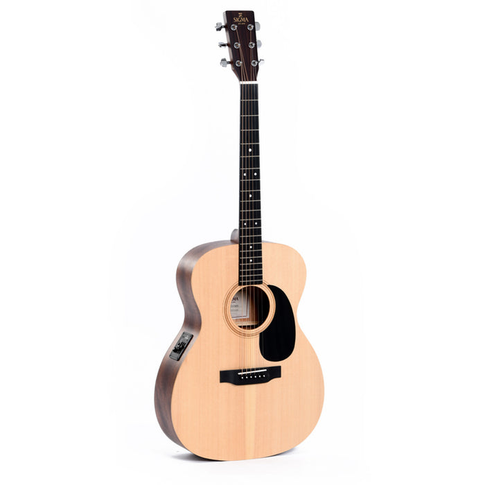 Sigma | 000ME+ | SE Series | Acoustic Electric Guitar w/ Pickup