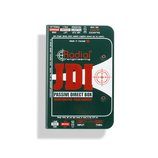 Radial JDI™ Passive Direct Box DI by Radial - Gsus4