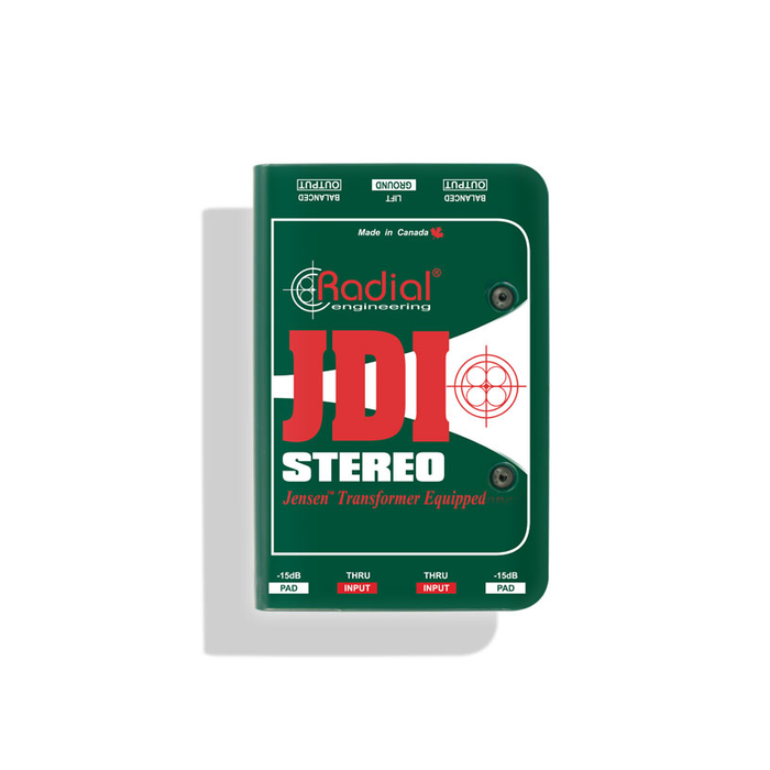 Radial | JDI Stereo | 2Ch Passive Direct Box w/ Jensen Transformer - Gsus4