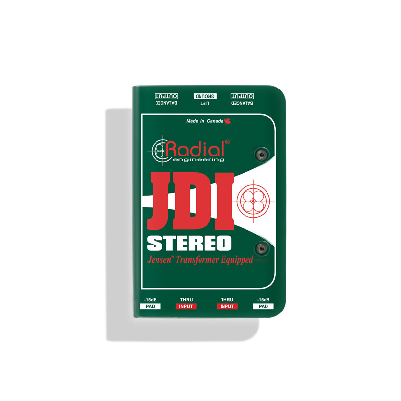 Radial JDI™ Stereo Passive Direct Box DI by Radial - Gsus4