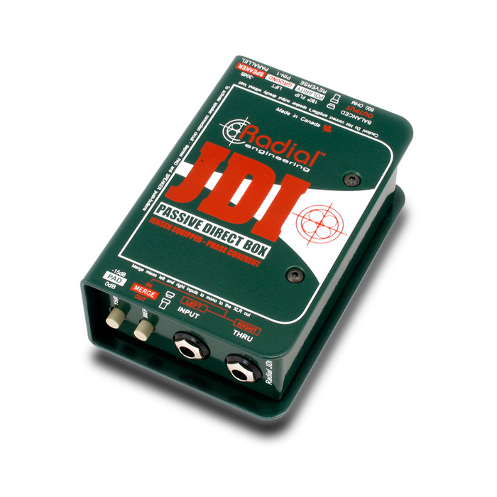 Radial | JDI | Passive Direct Box w/ Jensen Transformer - Gsus4