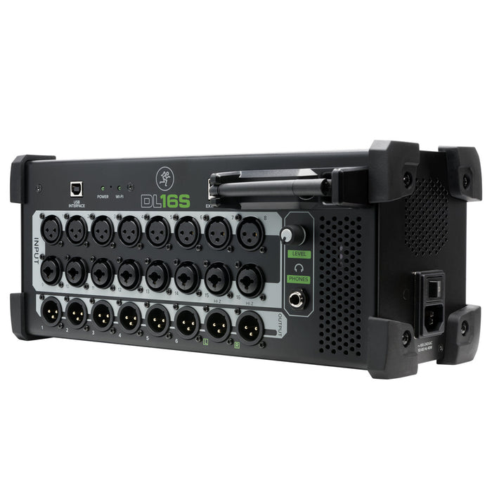 Mackie | DL16S | Digital Wireless Rack Mixer | Built-in WiFi