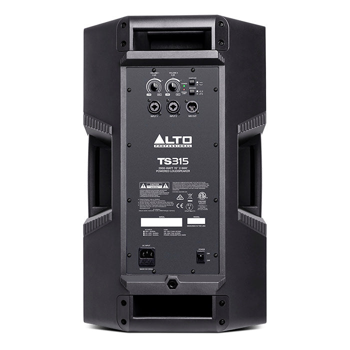 "ALTO Pro TS315 Active 2000W 2-Way 15"" PA Speaker - Gsus4"