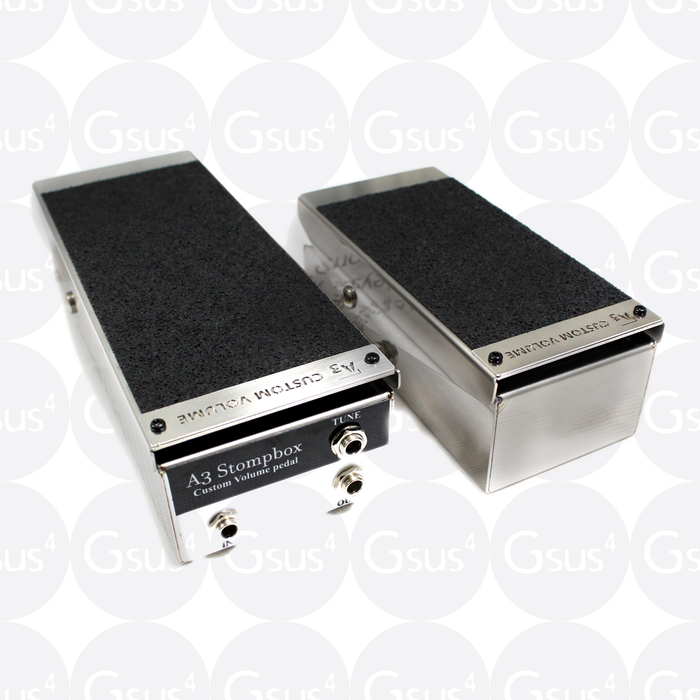 A3 Stompbox The Custom Volume Pedal (250k, Passive) - Mini Volume Device by A3 Stompbox - Gsus4