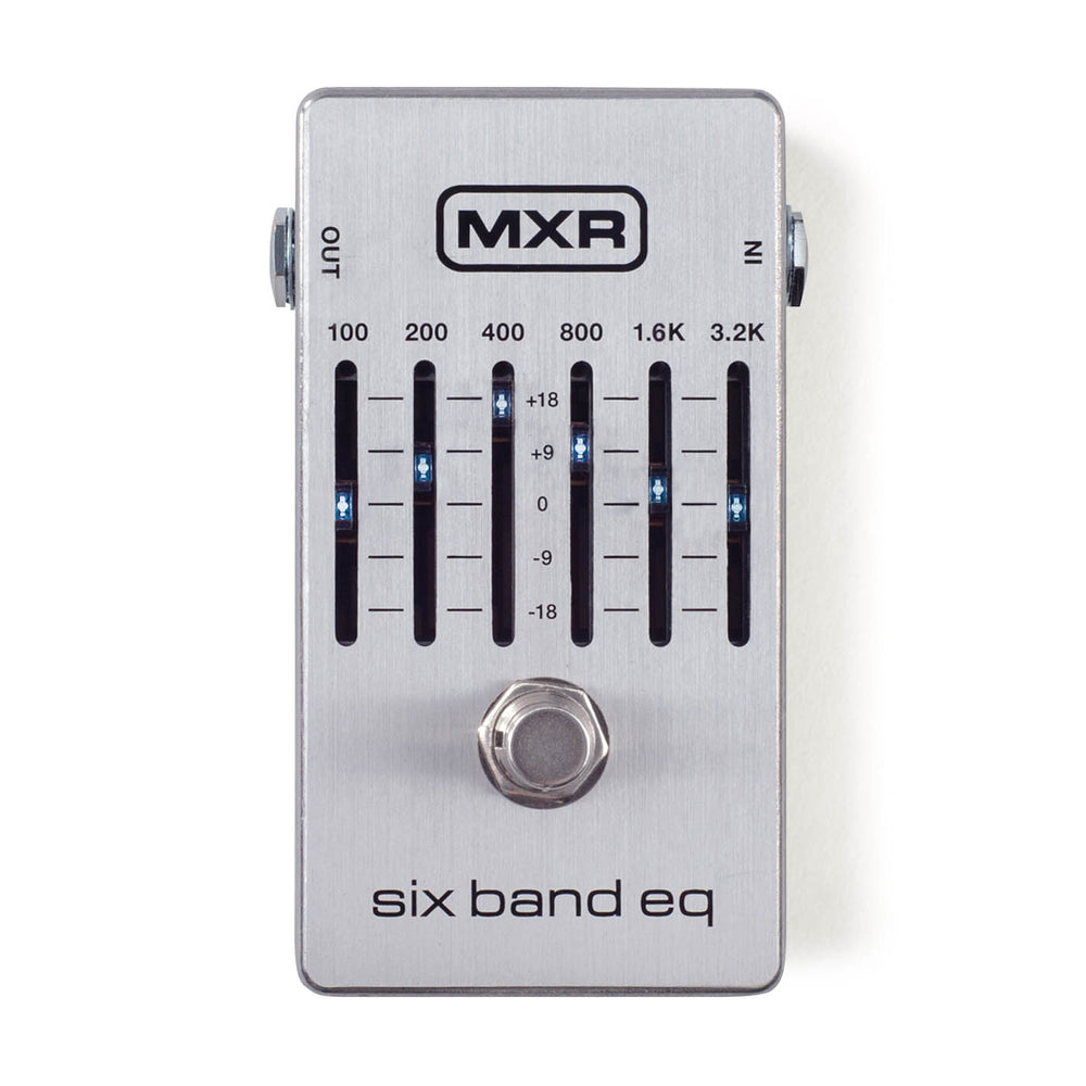 MXR 6 Band EQ Equalizer MKII EQ Devices by MXR - Gsus4