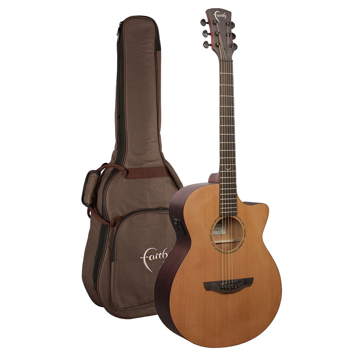 Faith Guitars | Naked Series VENUS | All Solid Acoustic | Fishman | GigBag | FKVCD - Gsus4