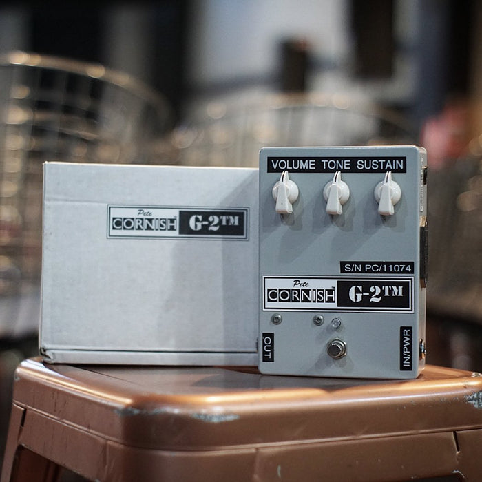 Pete Cornish | G-2™ | GREY SERIES | 70's British Marshall Inspired Overdrive / Distortion (Pre-Loved)