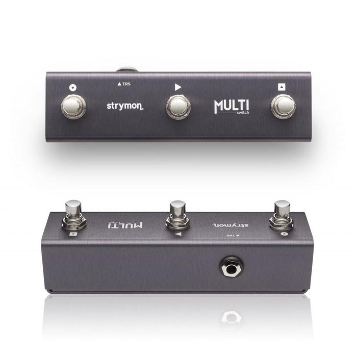 Strymon | MultiSwitch | Extended Control for Timeline, BigSky & Mobius