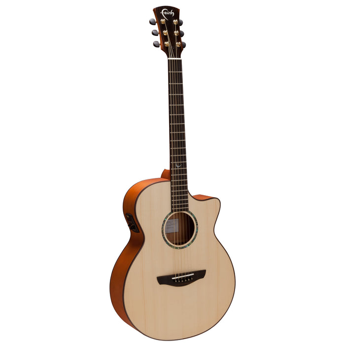 Faith Guitars | Natural Series VENUS | All Solid Acoustic | Fishman | Hard Case | FV - Gsus4
