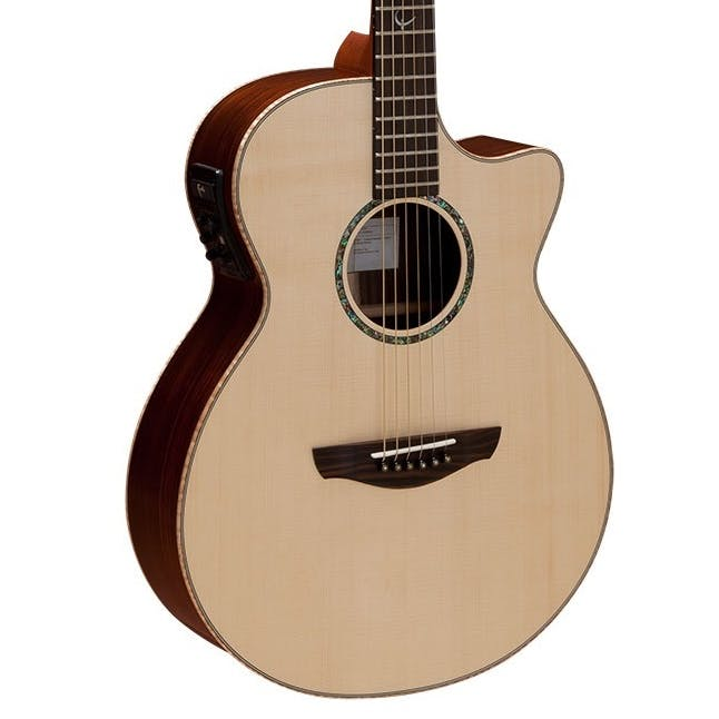 Faith Guitars | HiGloss Series VENUS | All Solid Engleman Spruce & Rosewood | Acoustic Guitar w/ Fishman Pickup & Hard Case | FVHG