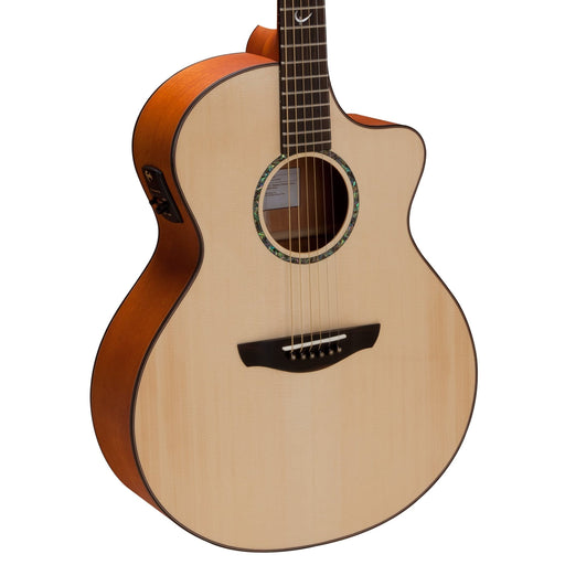 Faith Guitars | Natural Series NEPTUNE | All Solid Acoustic | Fishman | Hard Case | FNCE