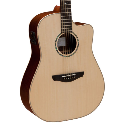 Faith Guitars | HiGloss Series SATURN | All Solid Engleman Spruce & Rosewood | Acoustic Guitar w/ Fishman Pickup & Hard Case | FSCEHG