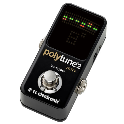 TC Electronic | Polytune 2 Mini Noir | Black Finish Pedal Tuner - Gsus4