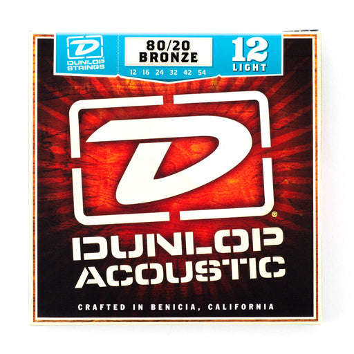 Dunlop Acoustic Guitar Strings 80/20 Bronze - Gsus4