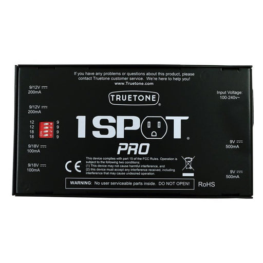 Truetone | 1 SPOT Pro | CS6 | 6-Output Low Profile Pedal Power Supply