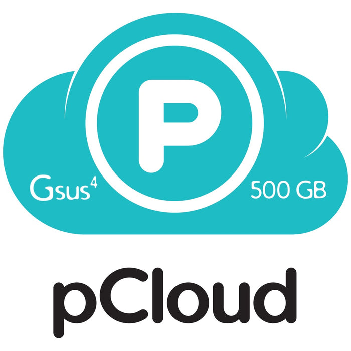 pCloud | Lifetime Cloud Storage | 500GB | iOS, Android, Mac, Windows & Linux - Gsus4