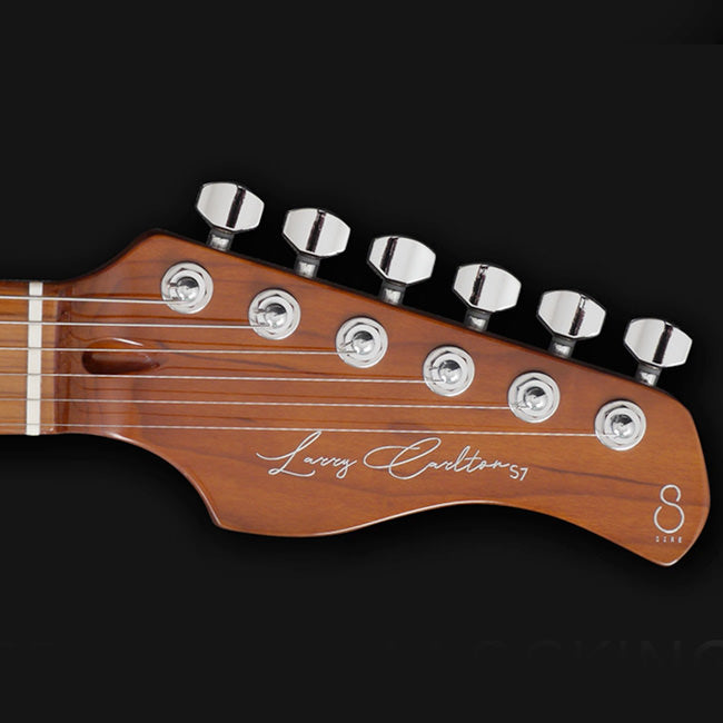 SIRE Larry Carlton | S7 AWH | Alder & Roasted Maple | w/ GigBag | Antique White