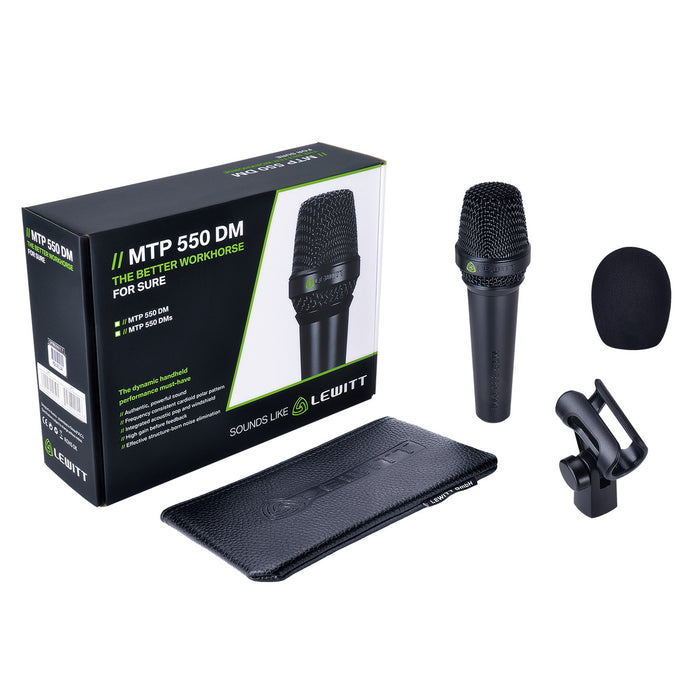 Lewitt | MTP 550 DM | Hi Dynamic Performance Handheld Microphone