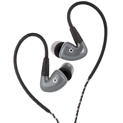 Audiofly | AF160 MK2 | Triple BA Drivers In-Ear Monitors | Grey | Perfect for Vocalists & Electric Guitarists