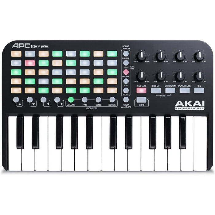 Akai APC KEY 25 Ableton Performance Controller w/ Keys - Gsus4