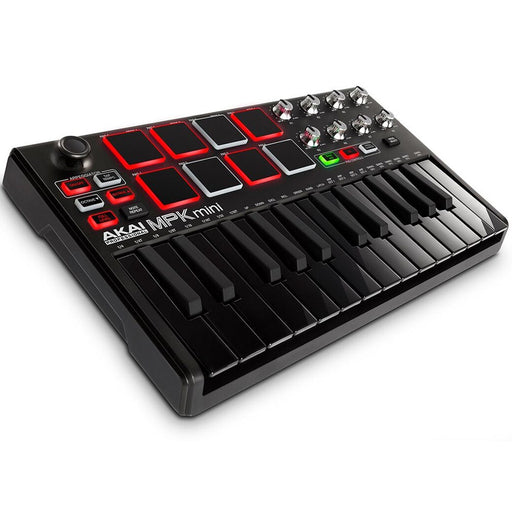 Akai MPK Mini mkII Compact Keyboard & Pad Controller(Limited Edition Black) - Gsus4