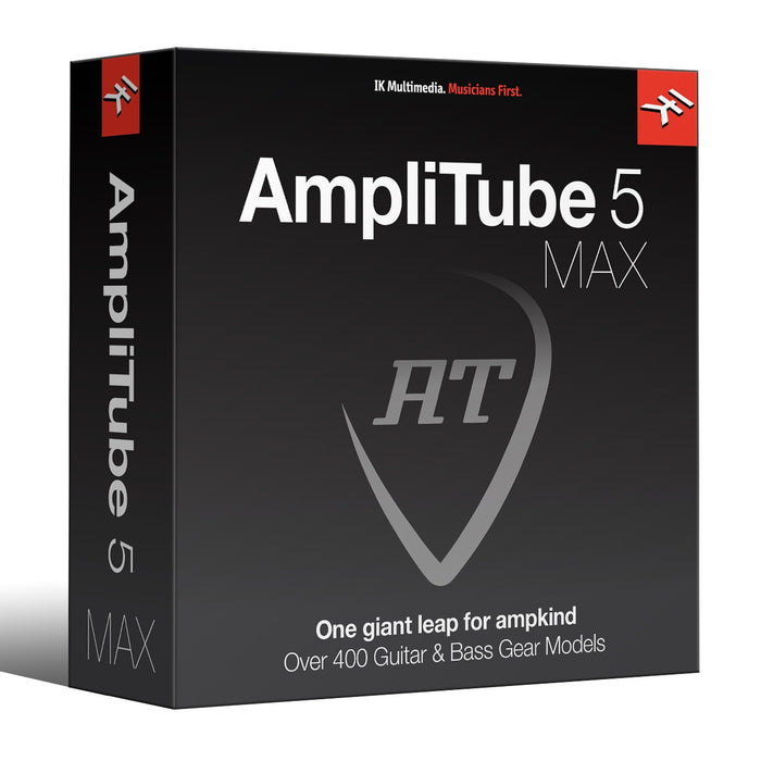 IK Multimedia | AmpliTube 5 MAX | The Ultimate Guitar Tone Collection