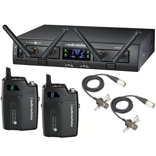 Audio Technica | System 10 Pro | ATW1311/L | Dual Lavalier Wireless Mic System
