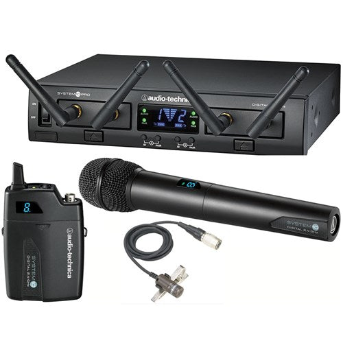 Audio Technica | System 10 Pro | ATW1312/L | Lavalier & Handheld Wireless Mic System