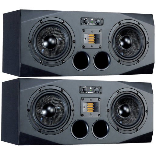 "ADAM Audio - A77X - AX SERIES 3-Way 2x7"" & X-ART Tweeter Studio Near Midfield Monitors (Pair)"