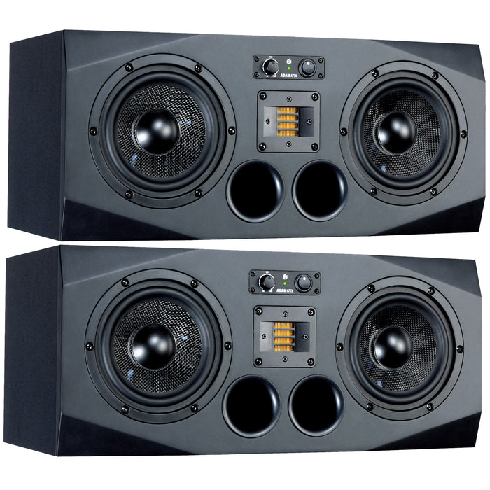 "ADAM | A77X | AX SERIES | 3-Way 2x7"" & X-ART Tweeter 