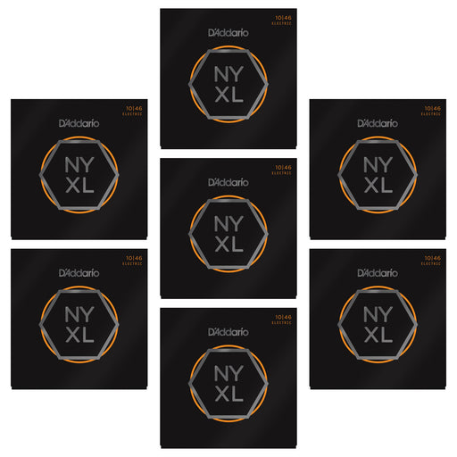 5+2 SETS BULK BUY - D'Addario NYXL1046 Nickel Wound Electric Guitar Strings - Light - Gsus4