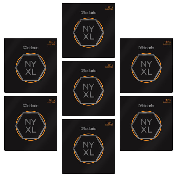 5+2 SETS BULK BUY - D'Addario NYXL1046 Nickel Wound Electric Guitar Strings - Light Acoustic Strings by D'addario - Gsus4