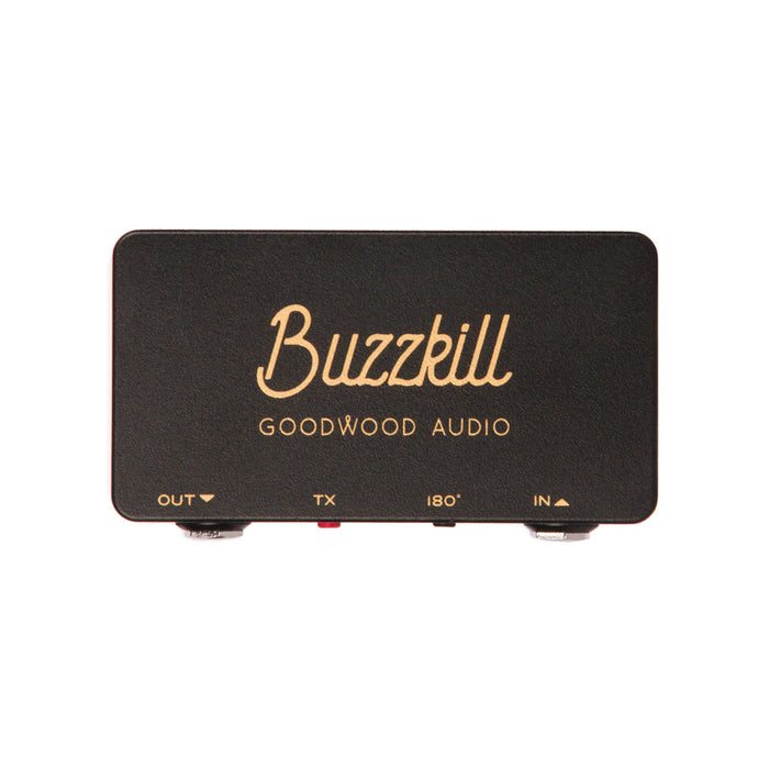 Goodwood Audio | Buzzkill | Ground Loop & Phase Correction Switch