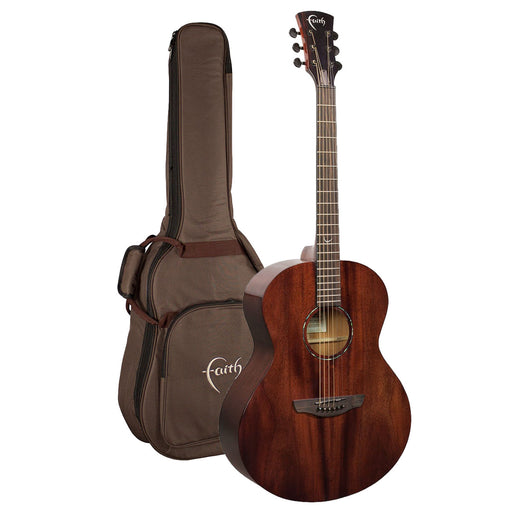 Faith Guitars | Nexus Series NEPTUNE | All Solid Acoustic | Fishman | GigBag | FPNECG - Gsus4