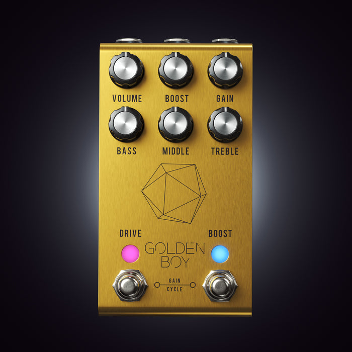 Jackson Audio | GOLDEN BOY | Open, Uncompressed & Transparent OVERDRIVE