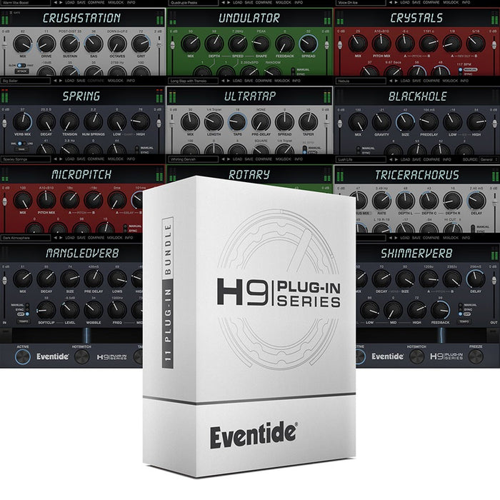 Eventide | H9 Plug-in Series | Iconic H9 Collection on Windows & MacOS