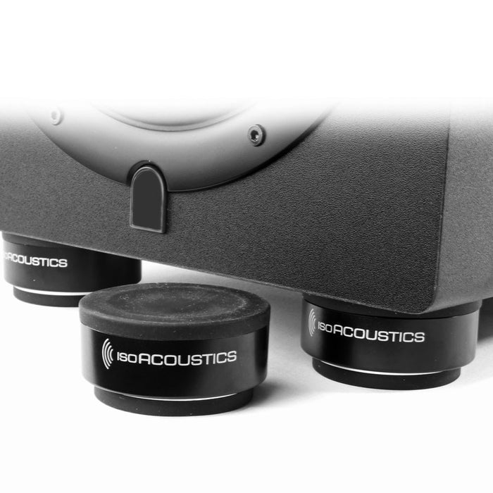 IsoAcoustics | ISO Puck | Isolation Pads for Cabinet or Studio Monitors (Pair) - Gsus4