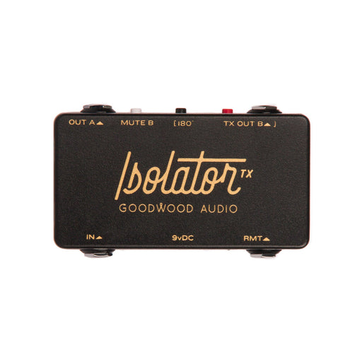 Goodwood Audio | The Isolator TX | Transformer Isolated Split for Wet / Dry Effects | ABY Switch