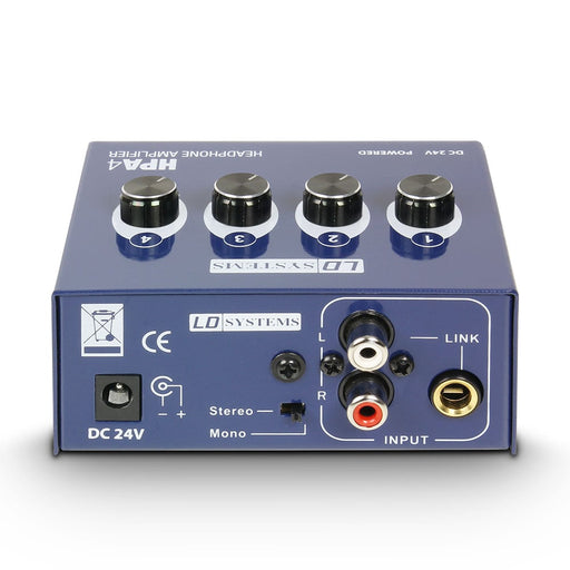 LD Systems HPA4 Headphone Amplifier 4 Channel