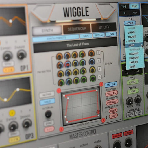 2nd Sense | WIGGLE | Dynamic Wavetable Synthesizer