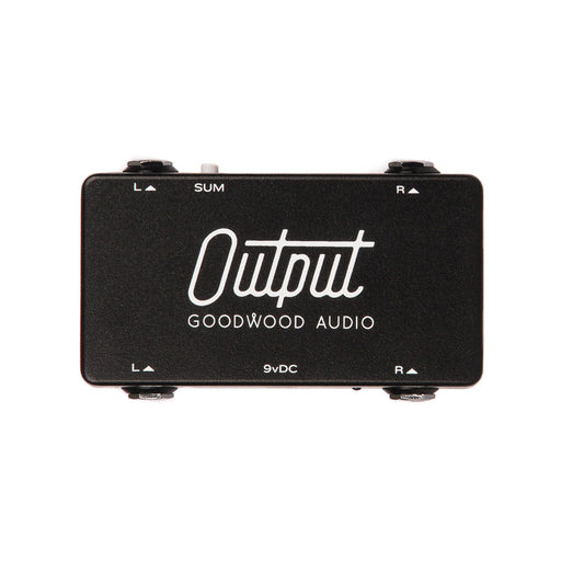 Goodwood Audio | The Output | Pedalboard Junction Box - Stereo / Mono Summing