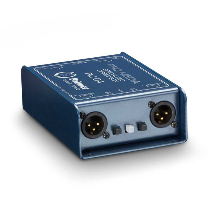 Palmer Audio | PLI04 | 3.5mm Audio Input & 2 Channel Passive DI Box for Media