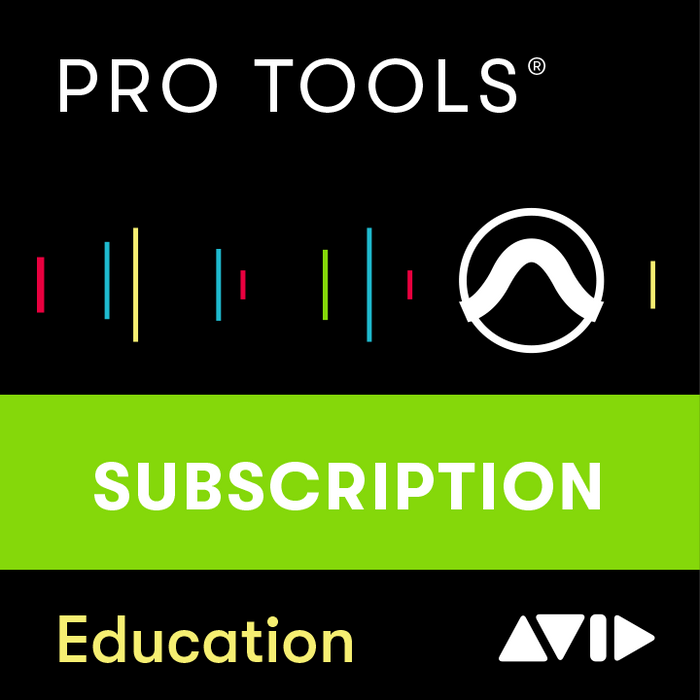 AVID | Pro Tools v2020 | 1-Year Subscription Licence NEW | w/ Software Updates & Support Plan