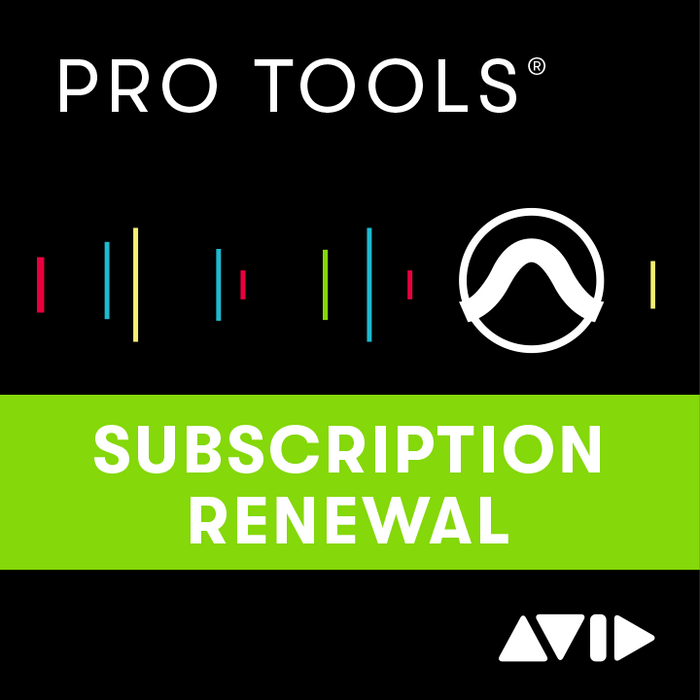 AVID | Pro Tools v2020 | 1-Year Subscription Licence RENEWAL | w/ Software Updates & Support Plan