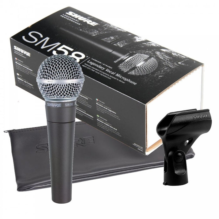 SHURE SM58LC VOCAL MICROPHONE - Gsus4