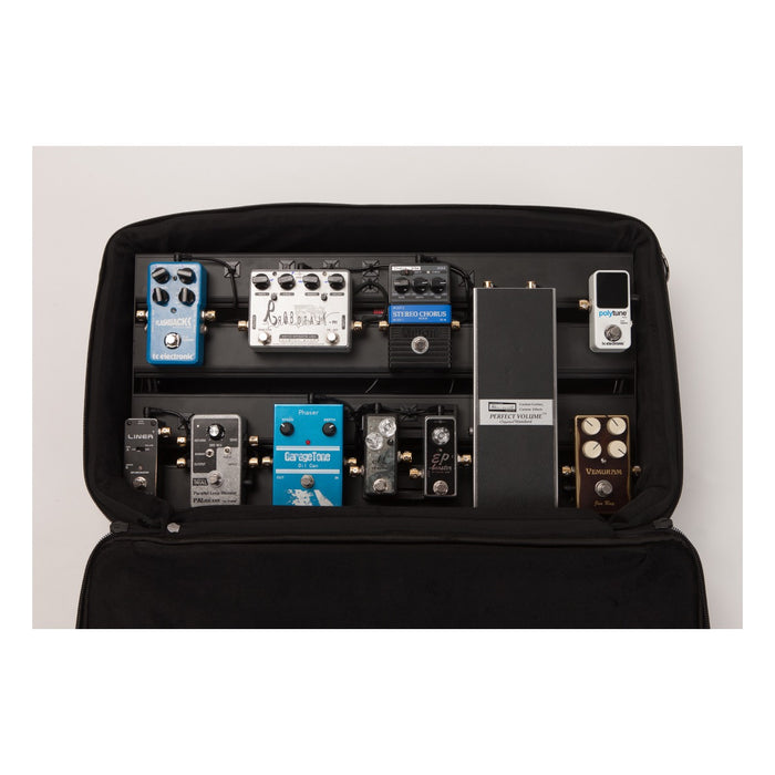 Pedal Stomper Master - Pedalboard w/ Padded Carrying Case - Gsus4