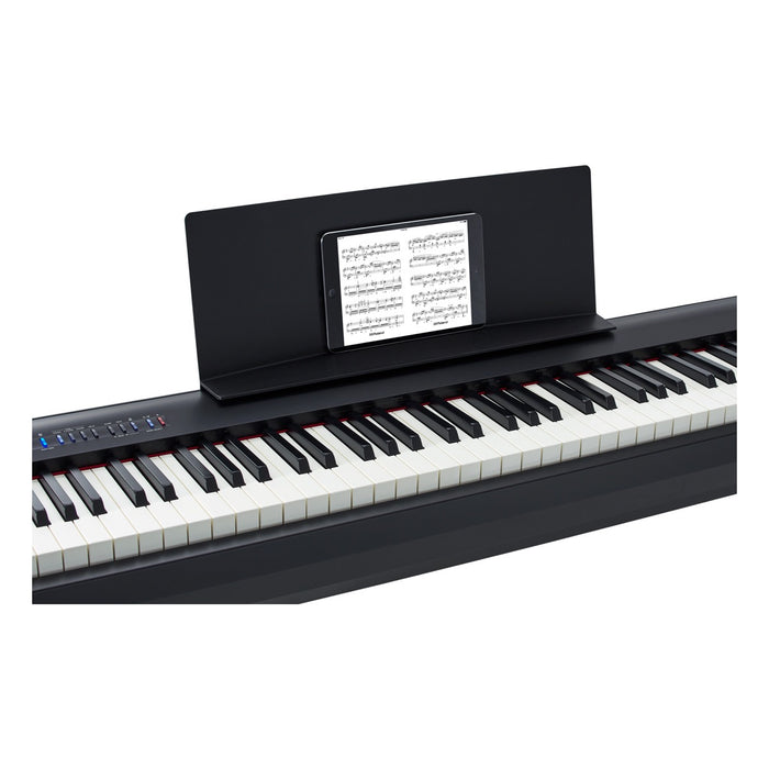 Roland FP-30 Keyboard - Compact 88 Weighted Keys w/ On-Board Speaker & Bluetooth MIDI Keyboard by Roland - Gsus4