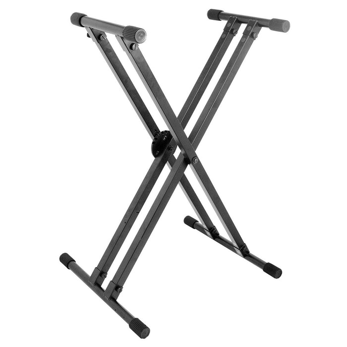 On-Stage Keyboard Stand  Double Ergo Lok KS8291