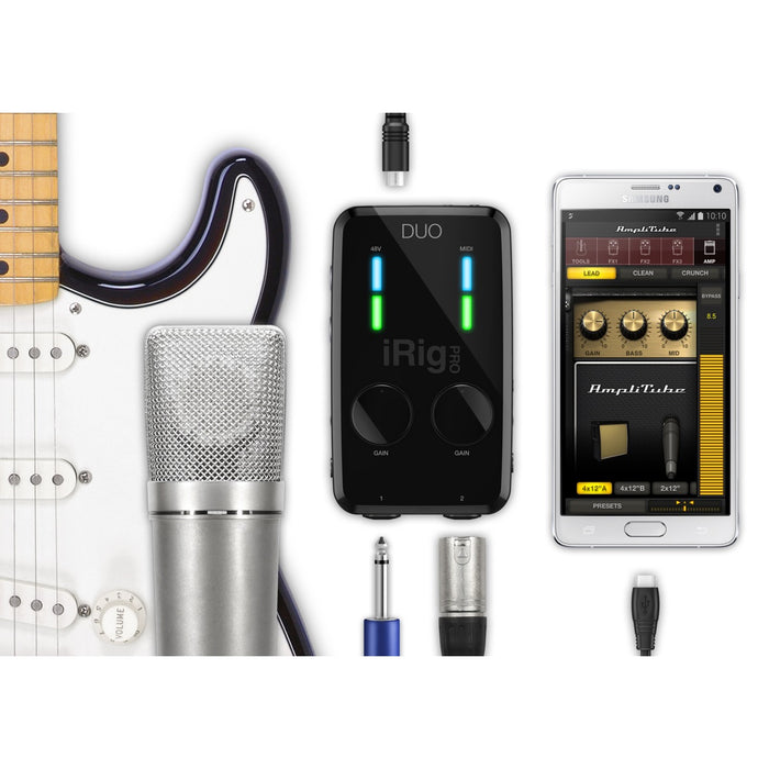 IK Multimedia | iRig Pro Duo | Audio Interface